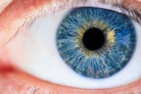 image of blue eye up close